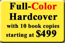 Full Color Hardcover Publishing Packages