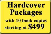 Hardcover Publishing Packages