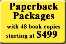 Paperback Publishing Packages